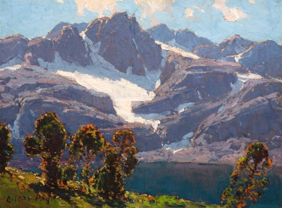 "Edgar Payne ""High Sierra"""