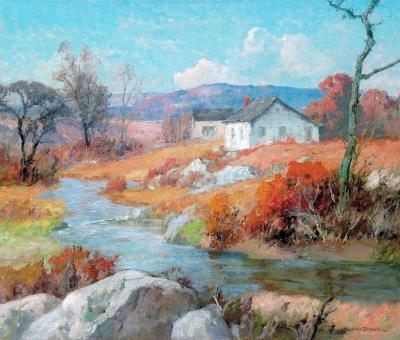 "alt=""Maurice Braun November Landscape"""