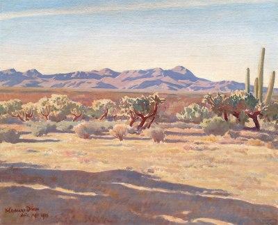 """alt=""""Maynard Dixon Desert Afternoon"""""""