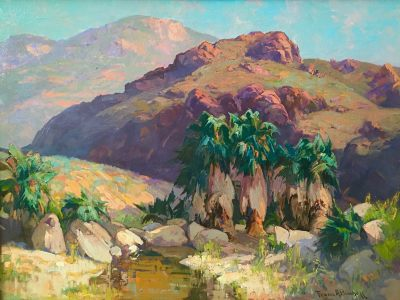 "alt=""Franz Bischoff Palm Canyon"""