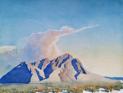 "alt=""Maynard Dixon Desert Clouds"""