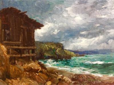 "alt=""Joseph Klitsch boat house laguna beach"""