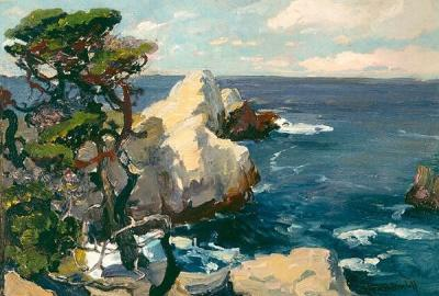 Franz Bischoff Point Lobos California