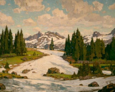 William Wendt Tioga Pass
