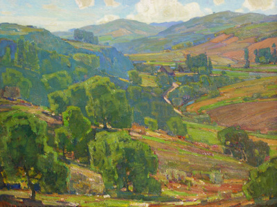 William Wendt Ranch in the Valley