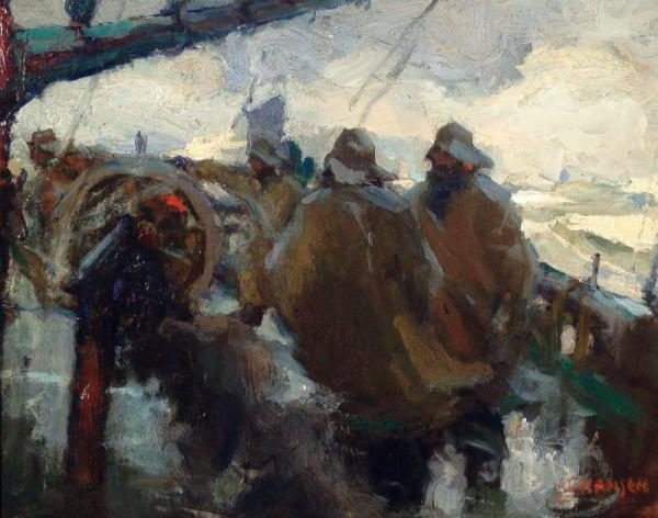 Armin Hansen Icelandic Fishing Boat
