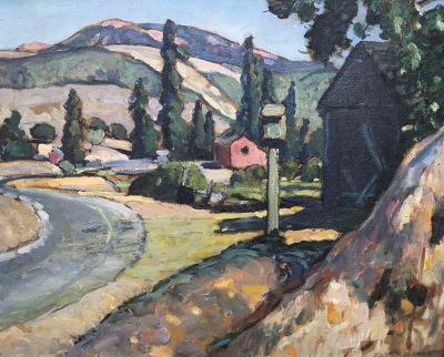 clark hobart fine art, la honda hills
