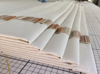 roman blind for client in richmond with trim