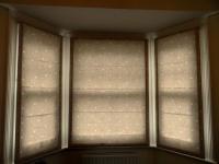 3 window bay roman blind for home in hampton