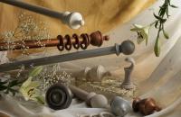 swish wooden poles