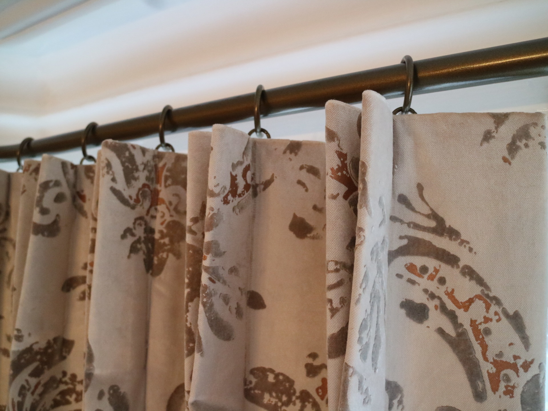 French Pleat Curtains in Thames Ditton