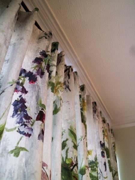 Informal Curtains in St.Margaret's
