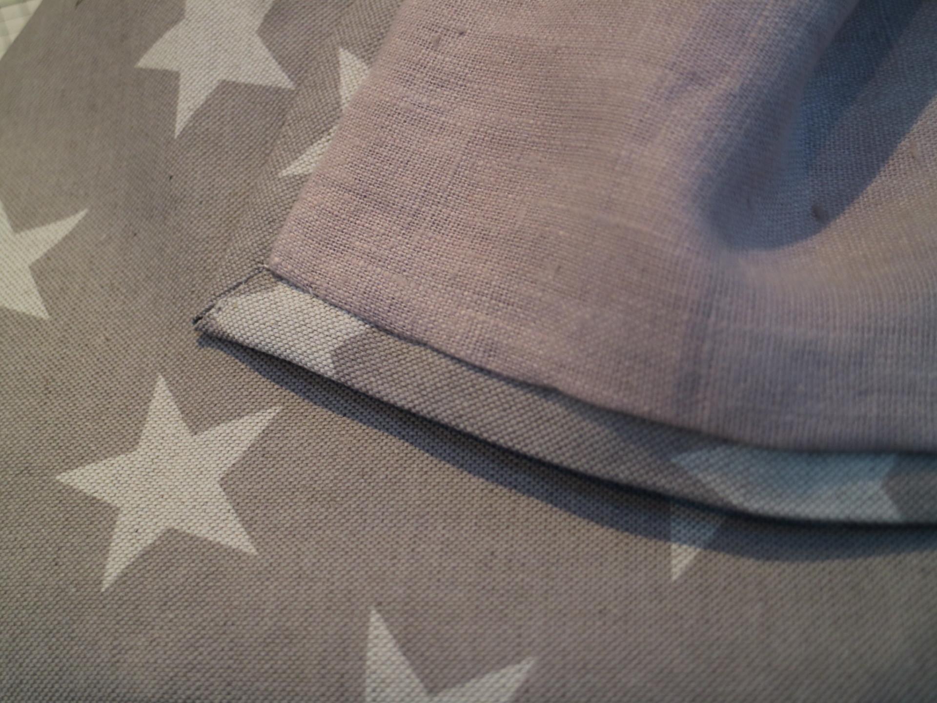 Handmade Linen Throw