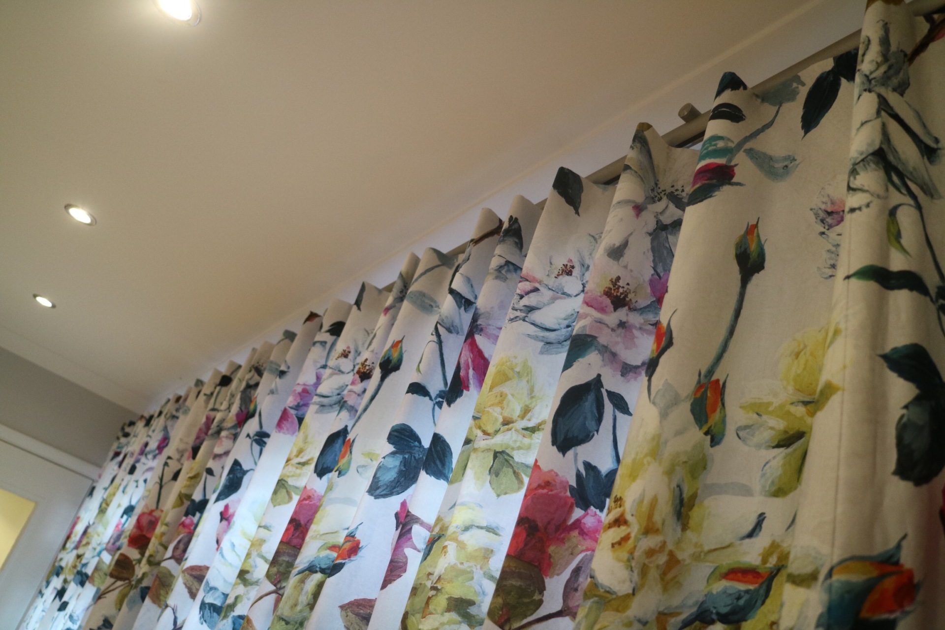 Pin-hook Curtains in Surbiton
