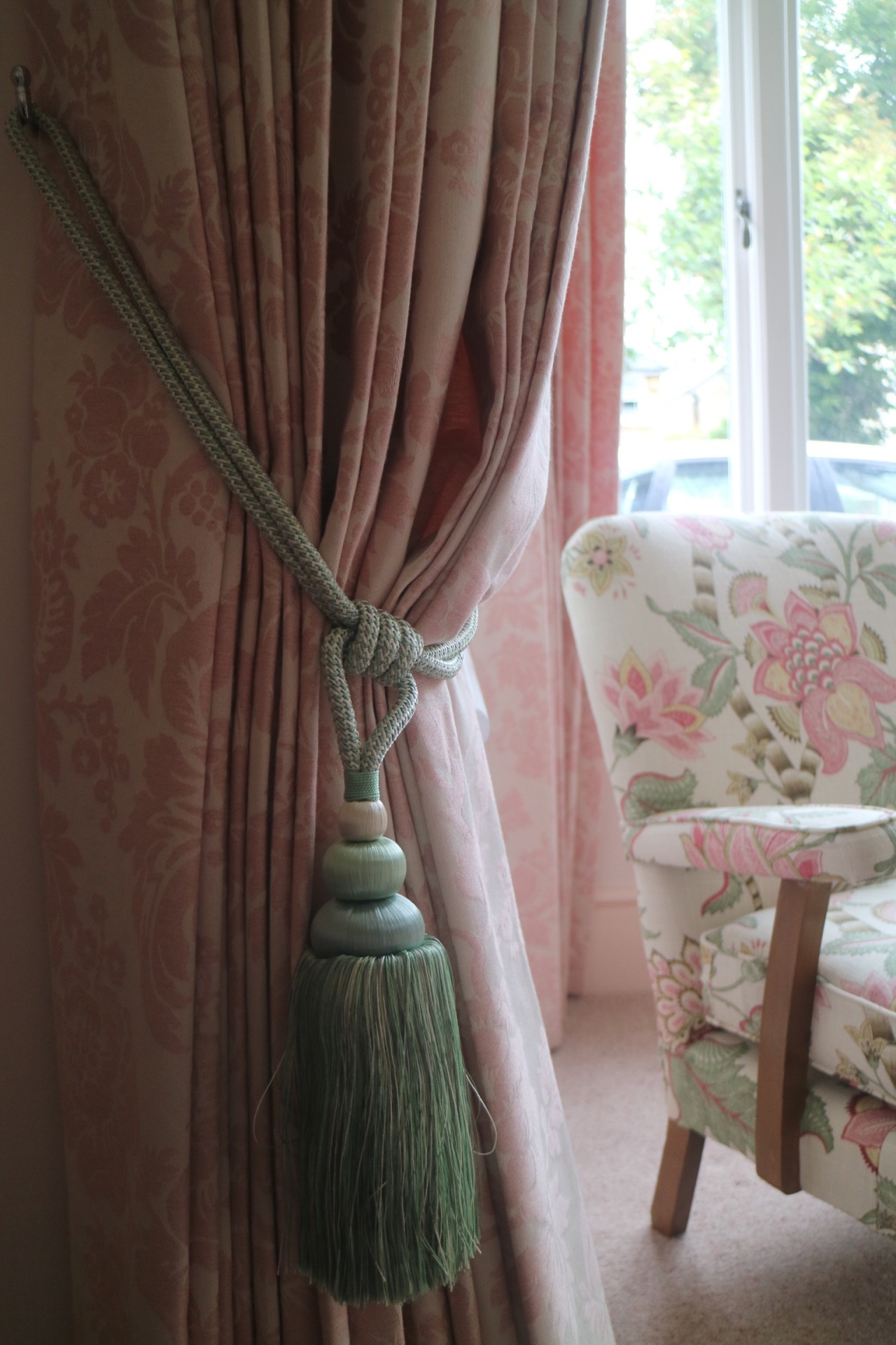 Curtains for a Sitting Room in East Molesey