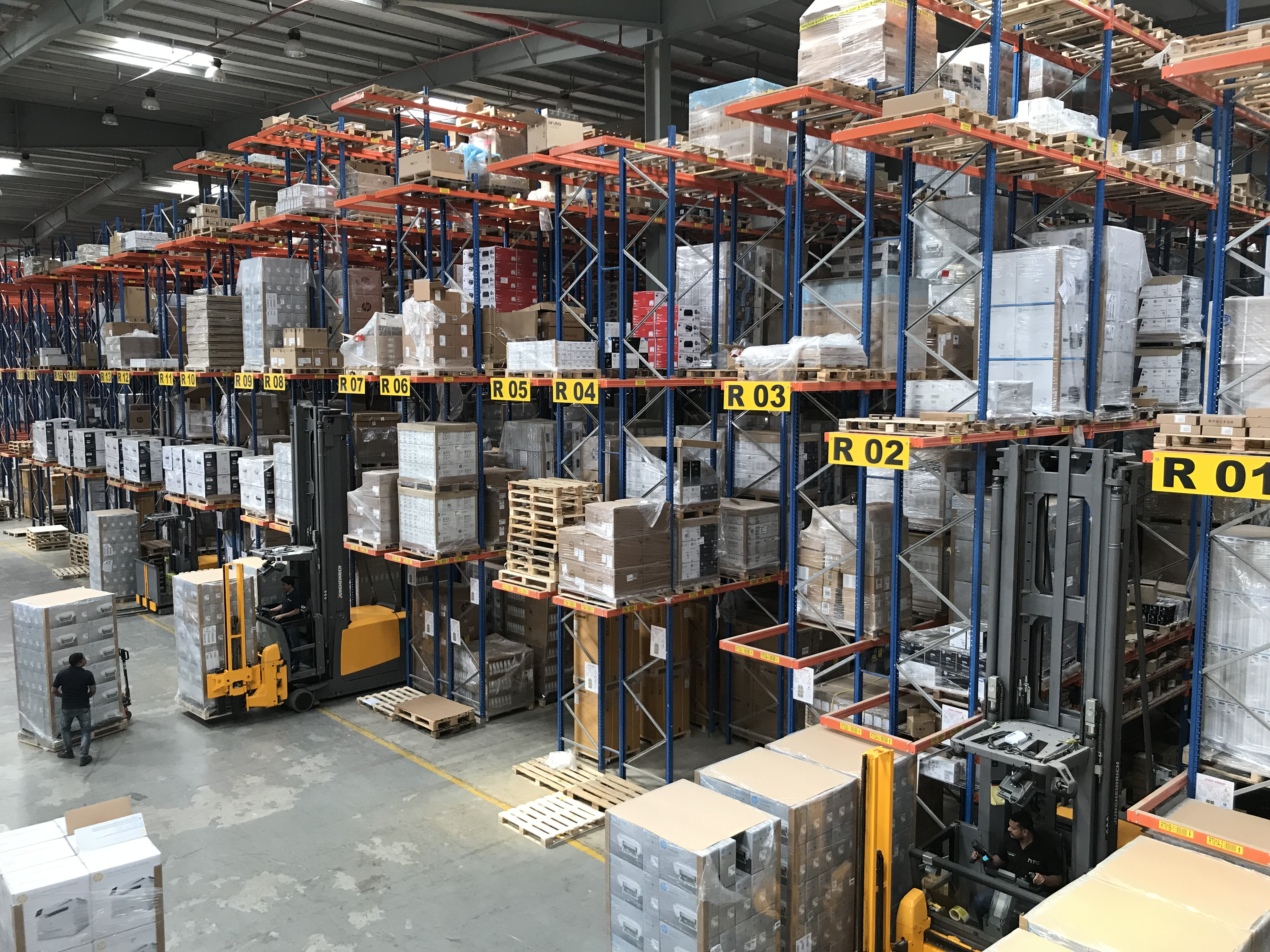 Automated Distribution Center in UAE