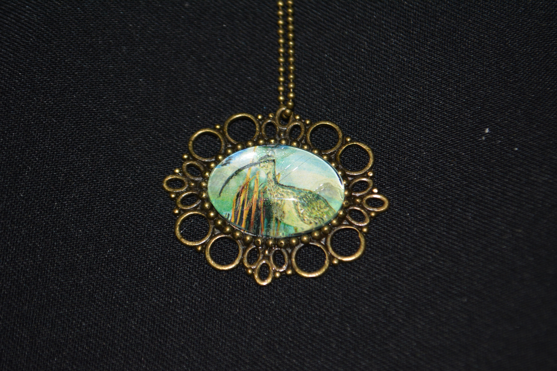 Whimbrel Bronze Necklace