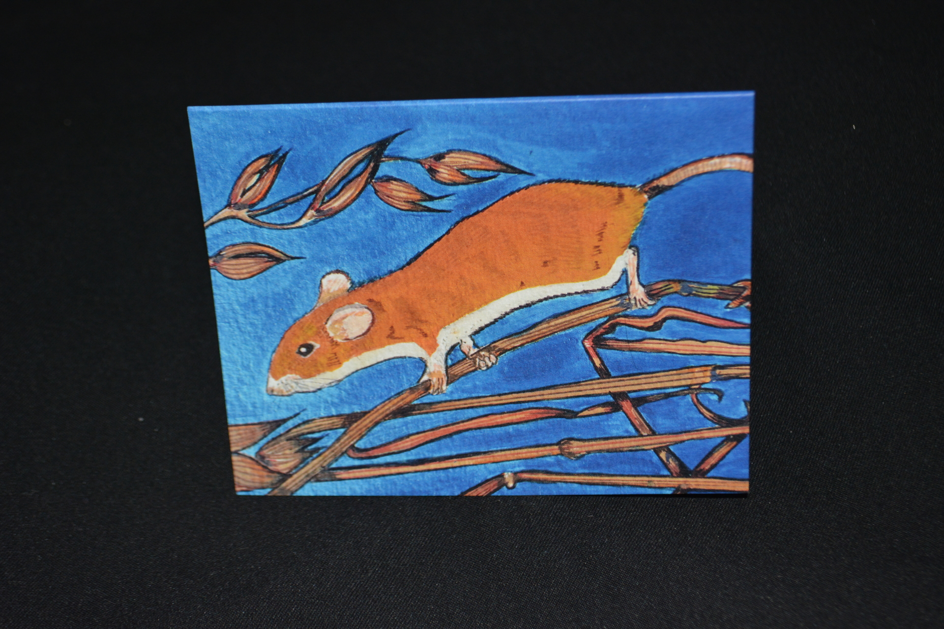 Field mouse (metallic paint)