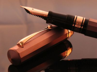 brpnze ink pen defining the bronze corporate package