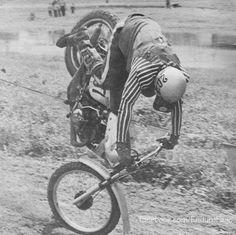 Crashing hurts no matter what year it is......