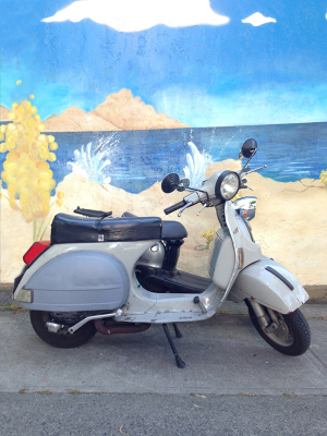 Vespa, City Beach