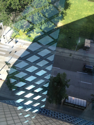 Seattle Library, Reflections