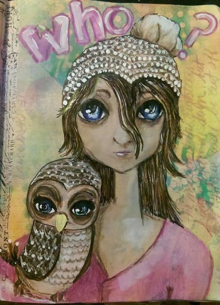 Mixed media, Lisa Albinus