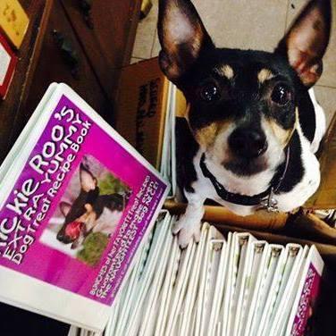 #dogtreatcookbook #rickieroo