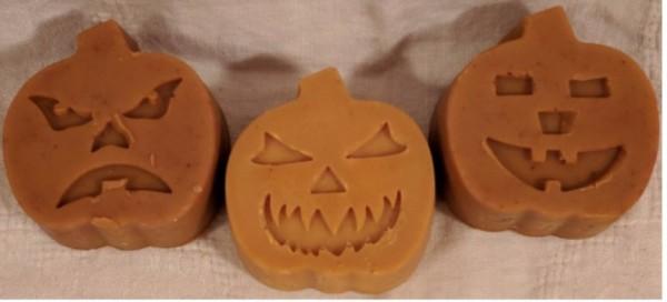 Pumpkin Spice Soap/ Jack O Lantern