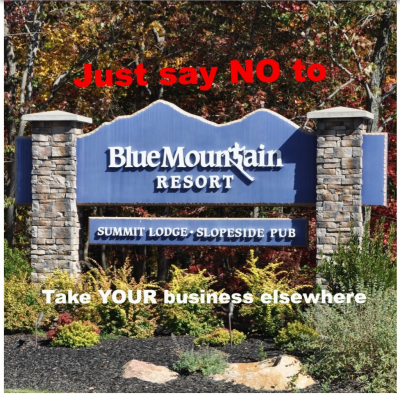 PennEast Pipeline, Blue Moutain Resort