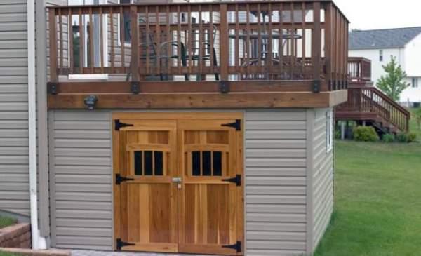 deck, storage, shed