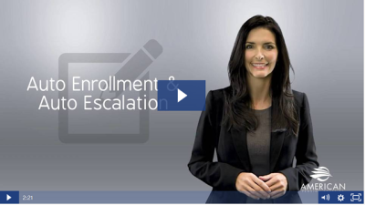 Auto-Enrollment and Auto-Escalation Help Employees Save For Retirement