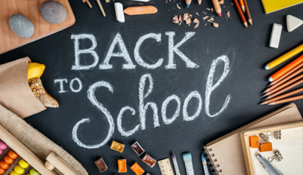 First Day of School for return students