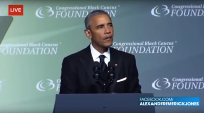 Obama Desperately Campaigns for Hillary at Awards Dinner