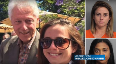 Girl Pictured With Clinton Arrested In Prostitution Bust!