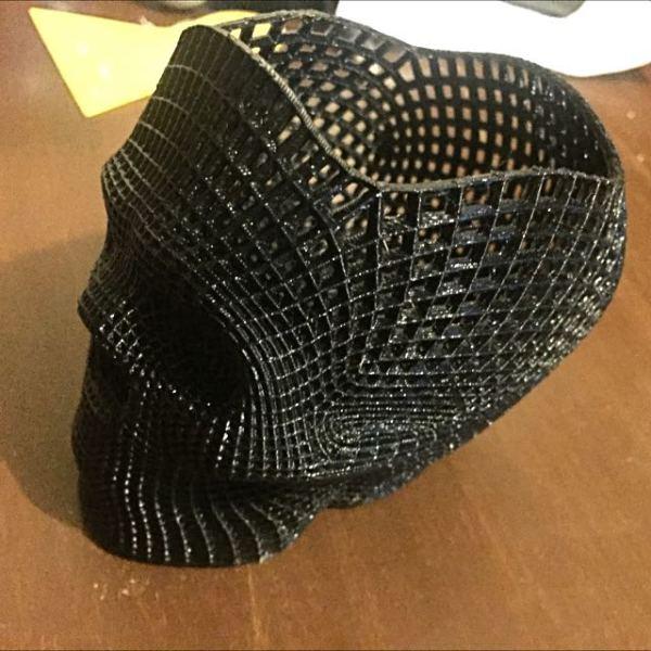 Wireframe Skull Holder