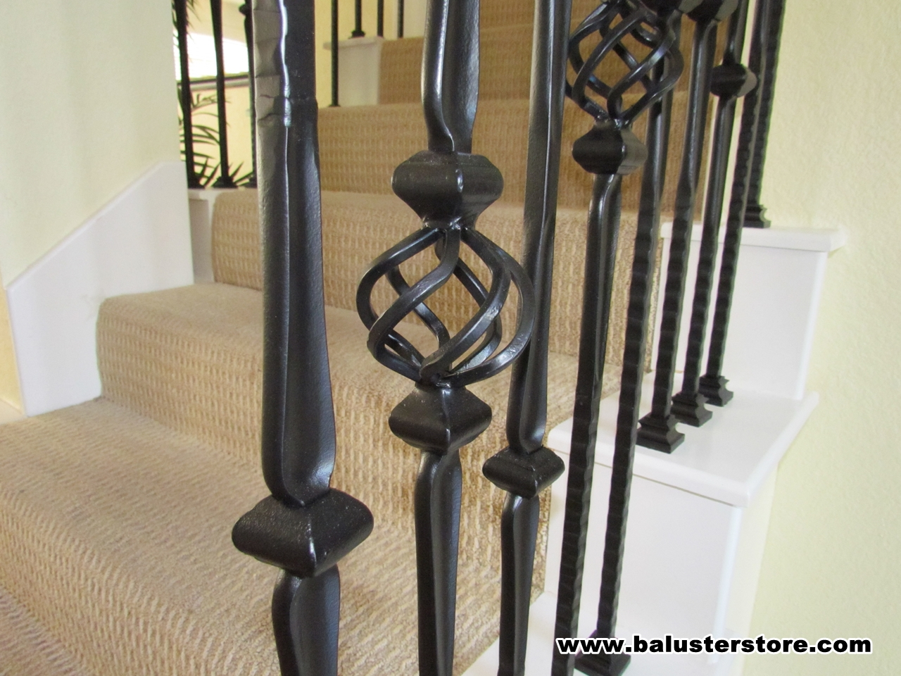 Gothic stair parts