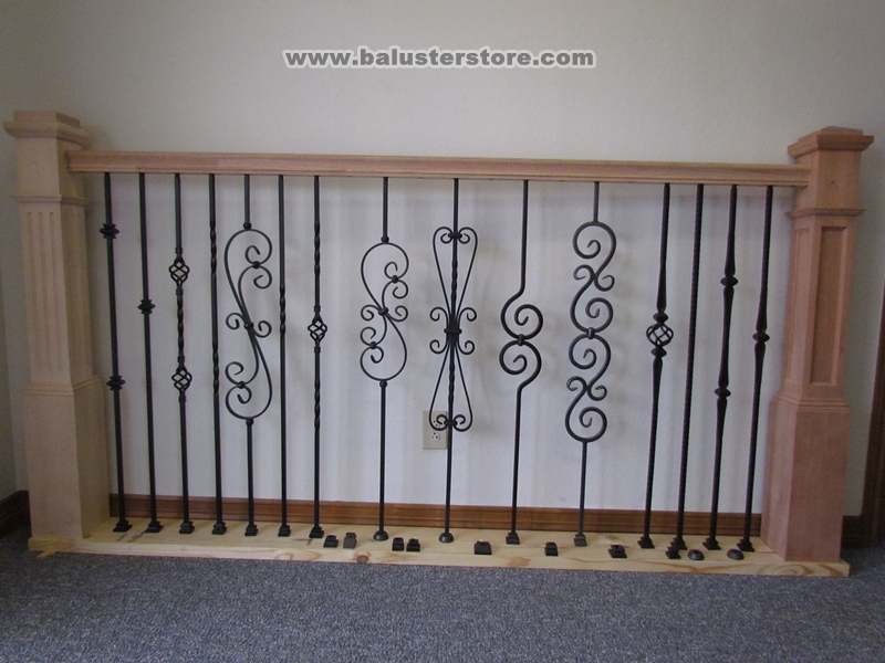 Iron balusters showroom