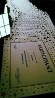 Participants Certificates
