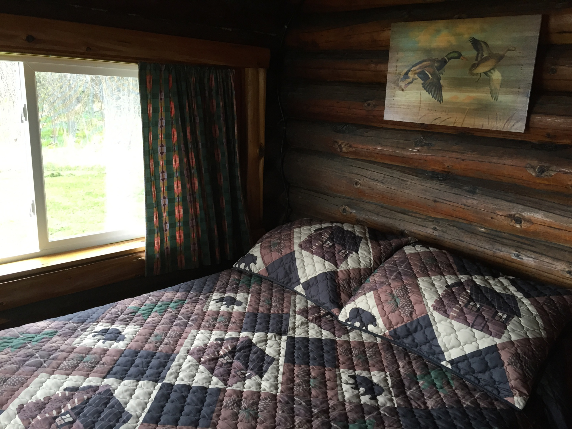Front porch bedroom