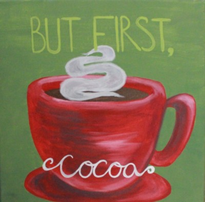 But First Cocoa