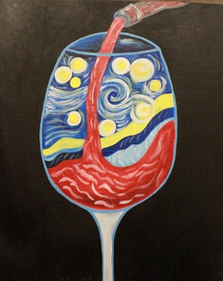 A Sip of Van Gogh