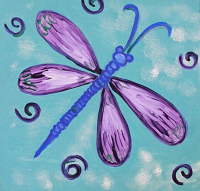 Sparkly Dragonfly