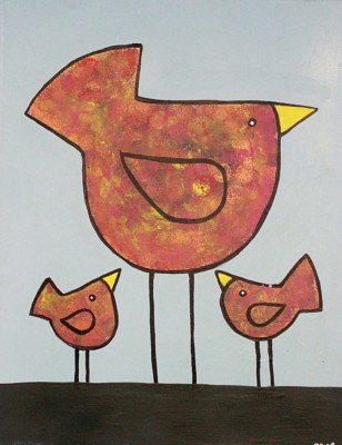 Simple Bird Trio