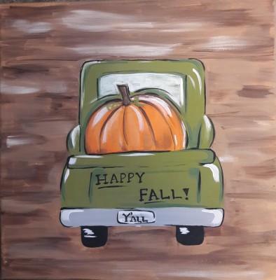 Happy Fall Truck