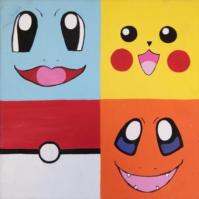 Pokemon Squares