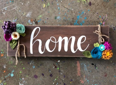 Home Sign DIY Class