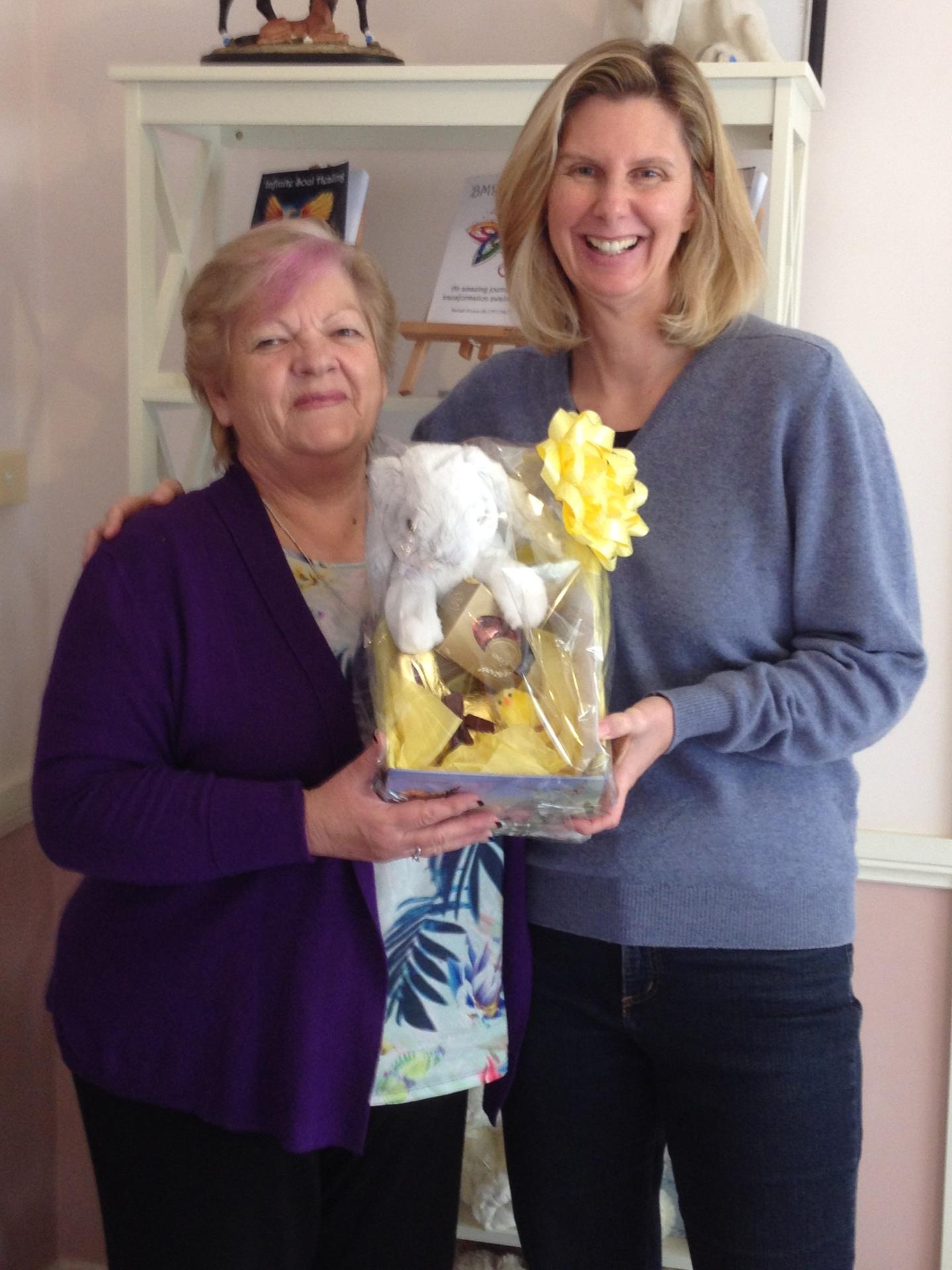 Danielle Won Easter Prize 2015