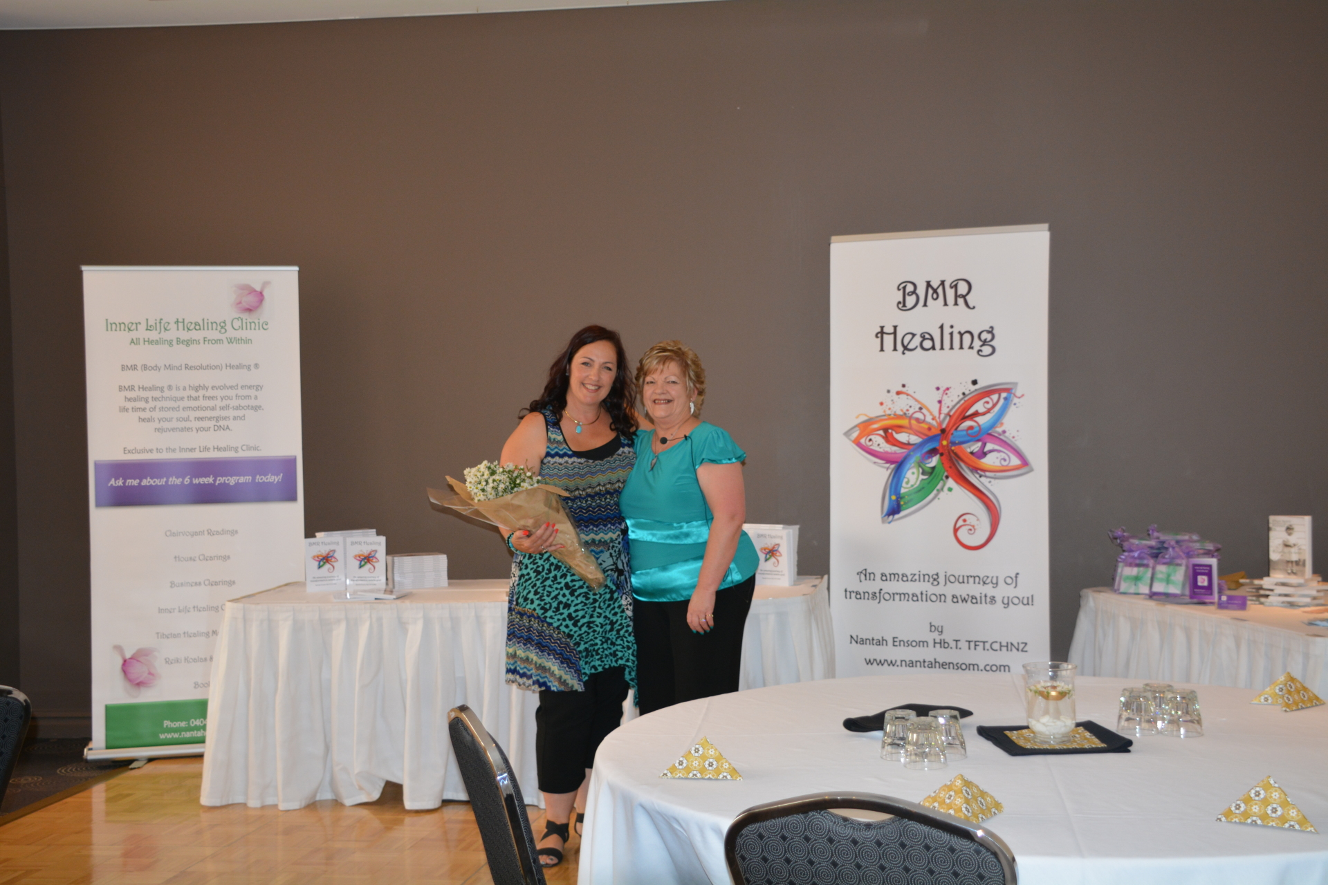 BMR Healing Book Launch.