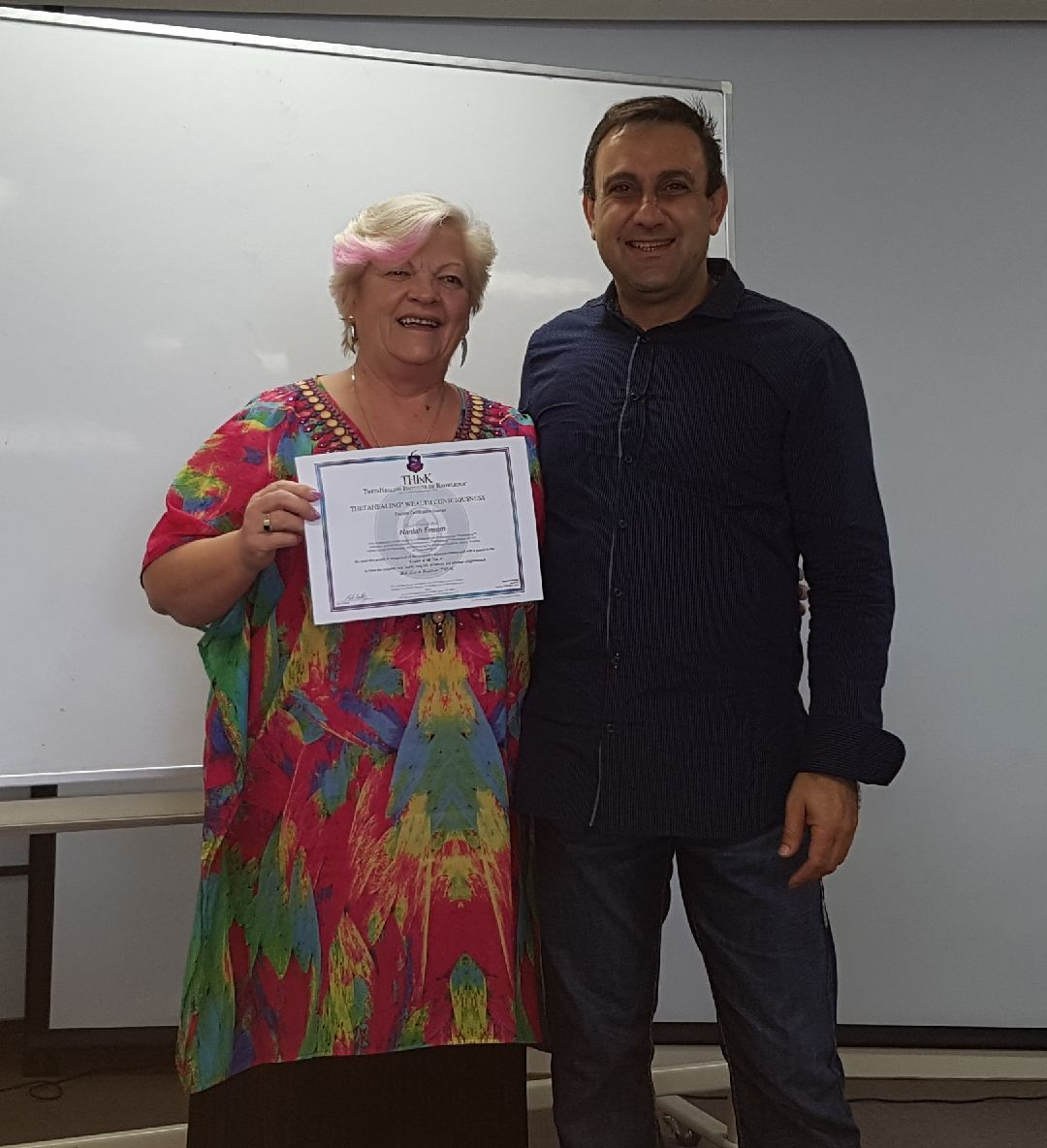 Wealth Consciousness Certificate Theta Healing 2018